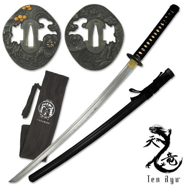 Ten Ryu Hand Forged Samurai Sword