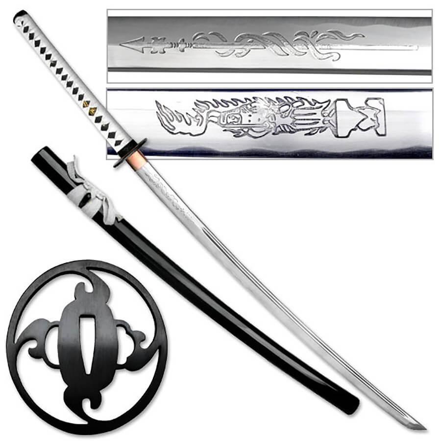 Japanese Katana VS European Longsword  Samurai sword VS Knight Broadsword