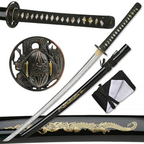 Ten-Ryu Fire Dragon Katana | MAZ-023D