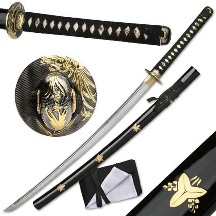 "Ten Ryu Bamboo Katana 41"" Handmade Sword | MAZ-023F"