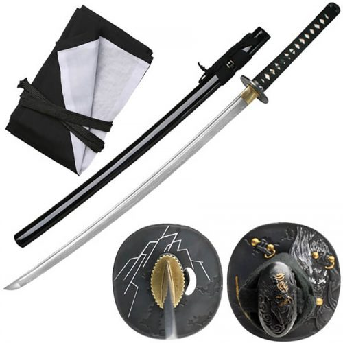 Ten Ryu Raijin Folded Thunder God Katana | MC-3055