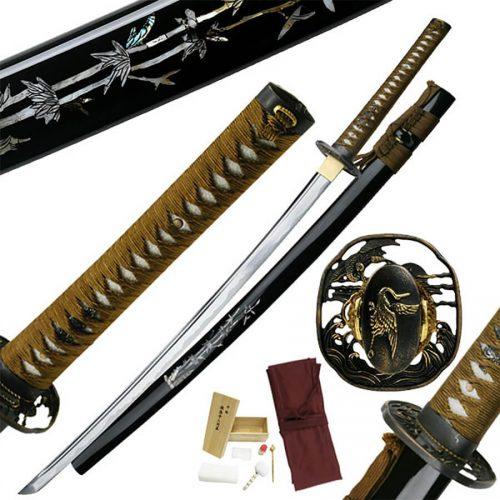 Bushido Bamboo Crane Katana | MC-3060