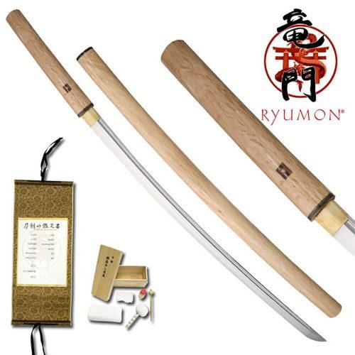 Ryumon Natural Wood Katana RY-3042N