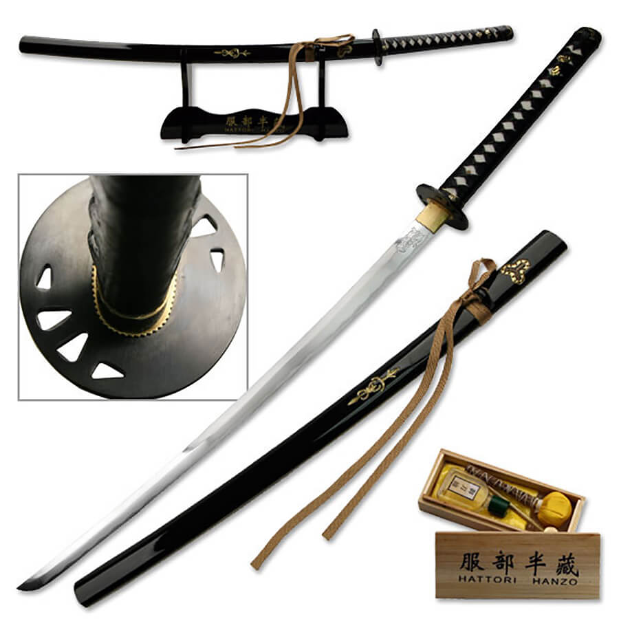 Ten Ryu Handmade Kill Bill (Bride's) Katana | SW320DX